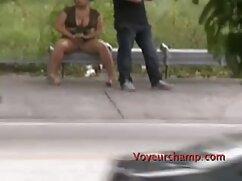 Sexo romántico en la terraza con la flexible morena Vanda Lust mexicanas tetonas cojiendo